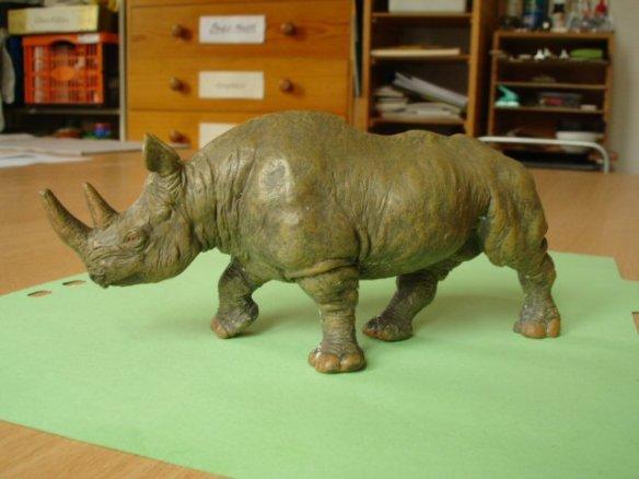 toy rhino