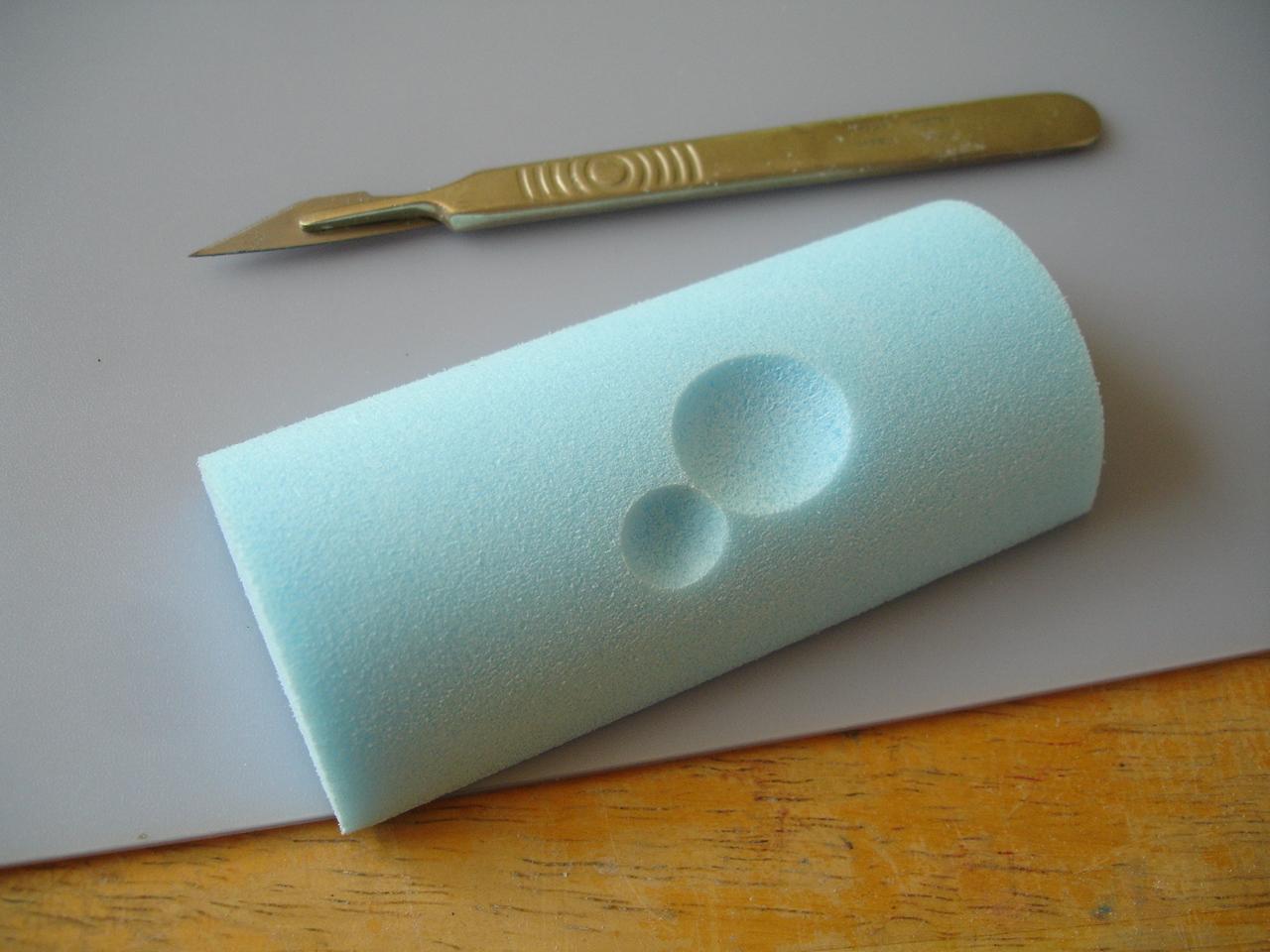 Styrofoam glue styrofoam glue make craft stamps for Styrofoam forms