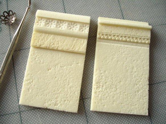 superficies con foamboard Impressing-patterns