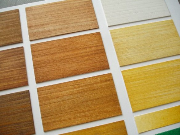 wood colour samples