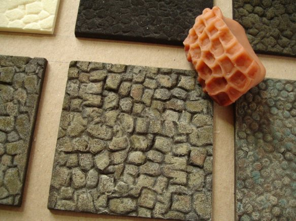 dry-bushed surface