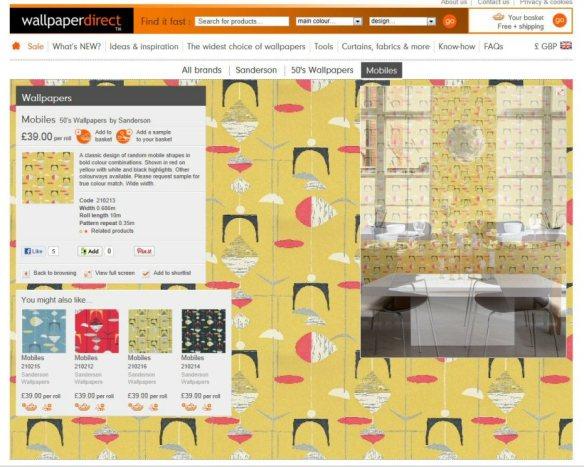 wallpaper webpage