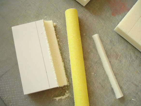 sanding a concave edge