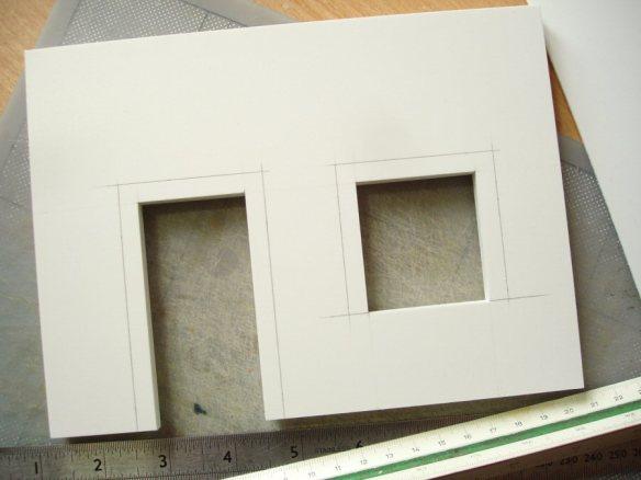 marking frame outline