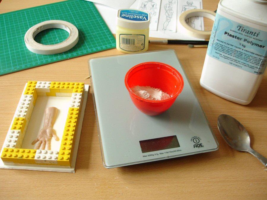plaster etc Vinamold Natural Hot Pour Reusable Mould Making Rubber 500g Uses