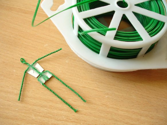 1:25 scale twisted wire armature
