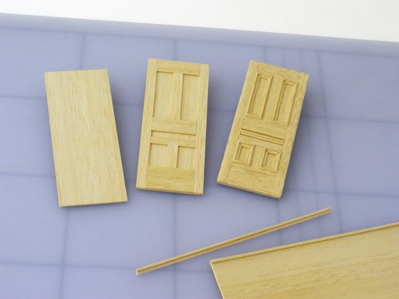 stages in making a door