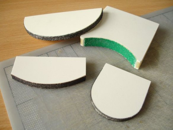 sanding shapers for foam