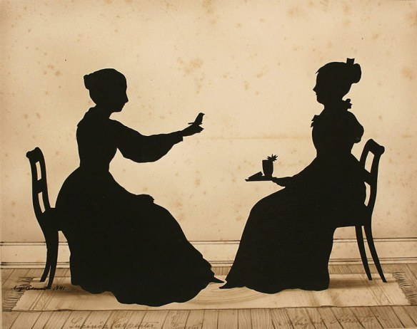 Victorian era paper-cut