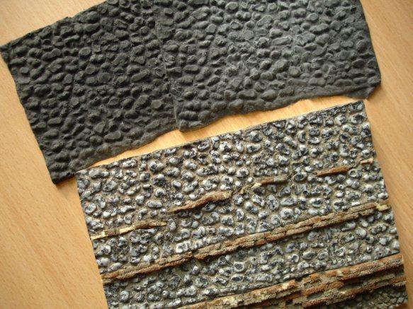 cast latex flint surface