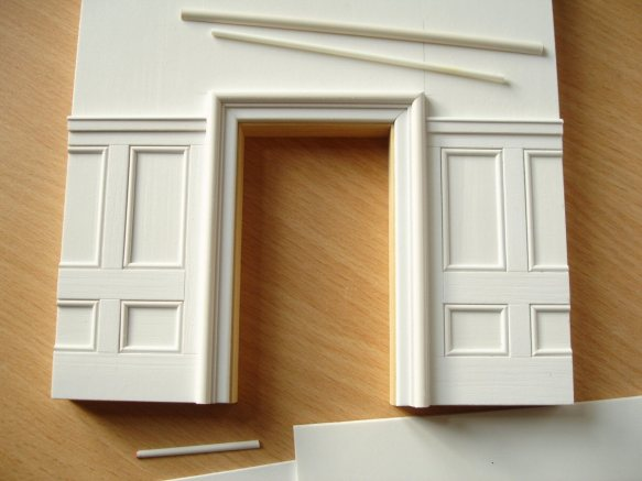 panelling in Pvc before painting