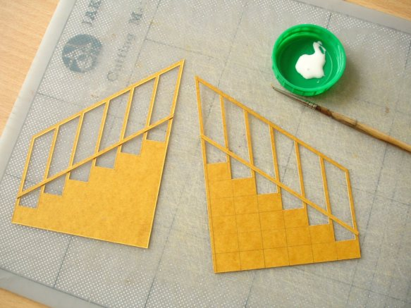 railings in stencil card