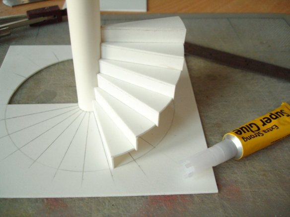assembled steps