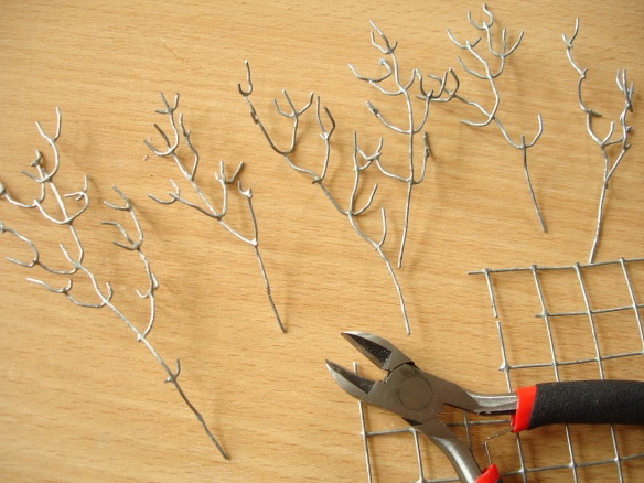 wire mesh trees