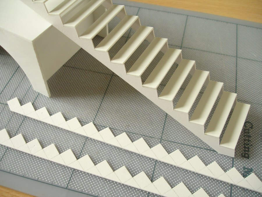 Making A Model Spiral Staircase Davidneat