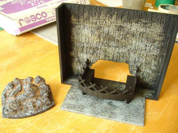 fireplace model