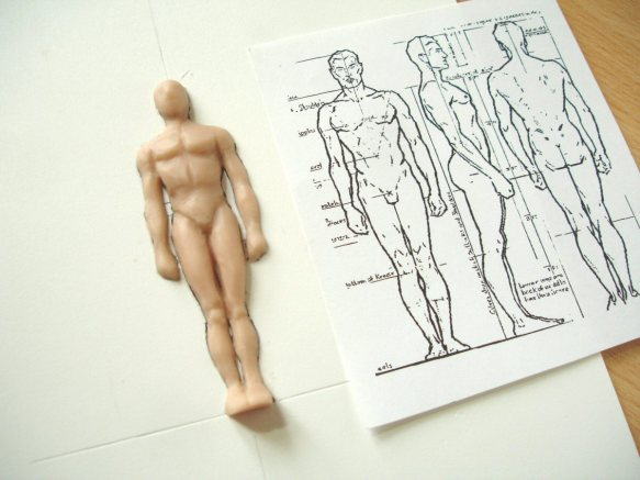 modelling on a template_2