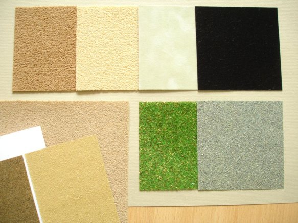 velours and sandpaper