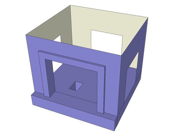 theatre model-box