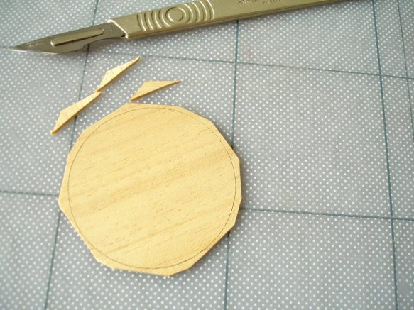 cutting a circle in wood