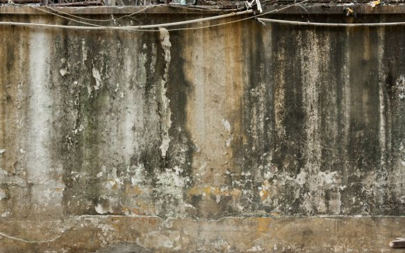 photo of weathered plaster