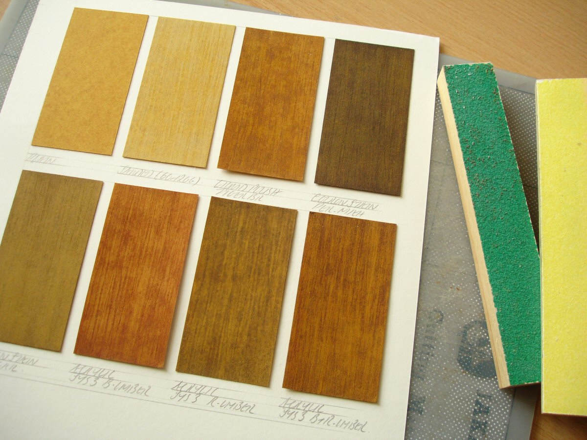 Humbrol enamels davidneat Wood colour paint