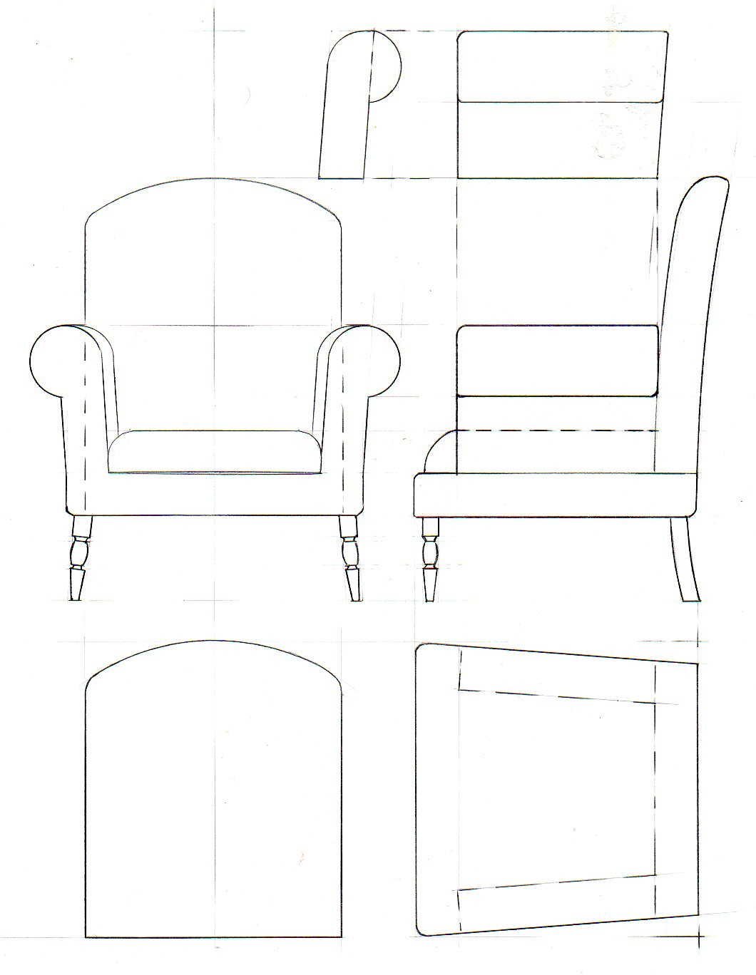 28 Furniture Drawings To Scale Plans Timely