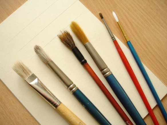 brushes for model-making