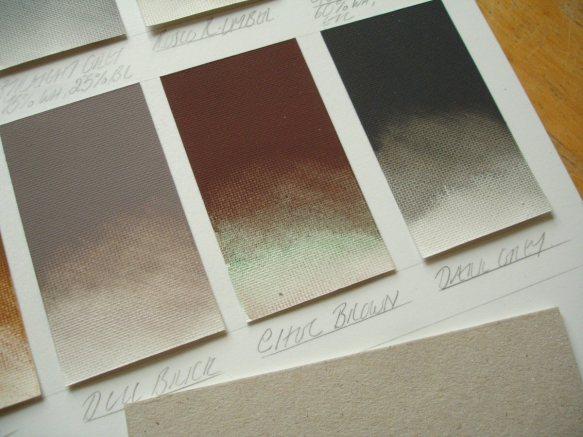 pigment separation