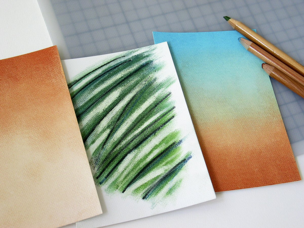 tinting with pencil and white spirit | davidneat