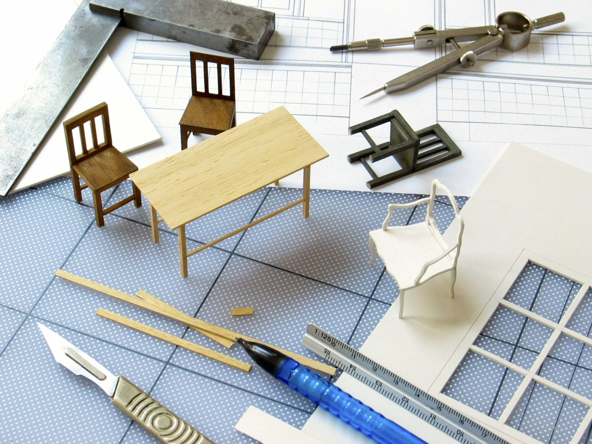 Model making jobs davidneat for Materials needed to build a house