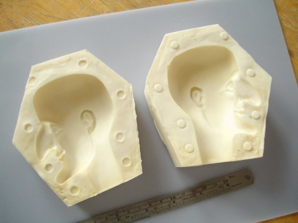 completed block mould