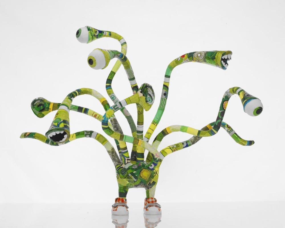 Jaina Minton 'Green Thing' mascot