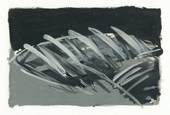 landscape.32 oil on paper (1998)