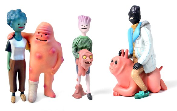 Salao Coboi sculpted figures