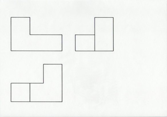 Orthographic projection without scale