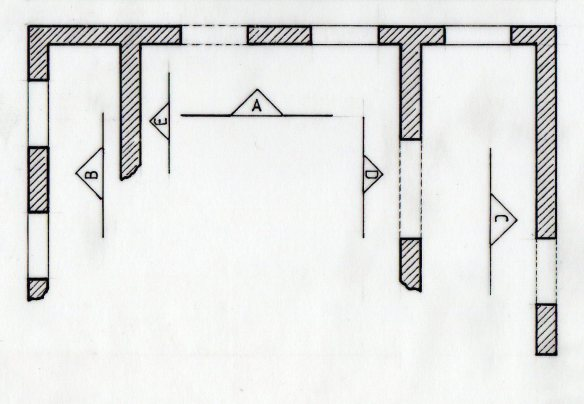 detail showing ground-plan