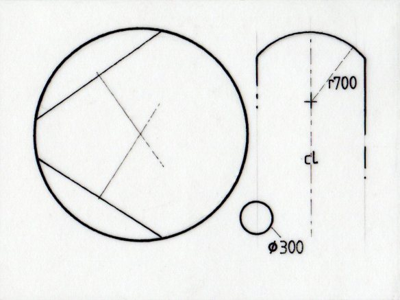 Circles and arcs in technical drawing