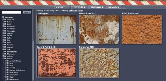 CGTextures 'rust' album