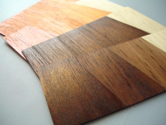 Marabu GlasArt used as varnish on wood
