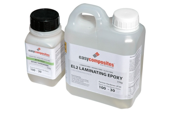 EL2 laminating epoxy resin from Easycomposites