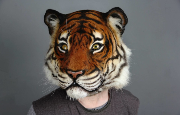Imogen Nagle, New Blades 2015. Tiger mask