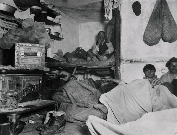 photo from Jacob Riis 'How the Other Half Lives' first published 1890
