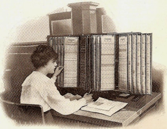 officemuseum.com, Acme Visible Record System, 1920s