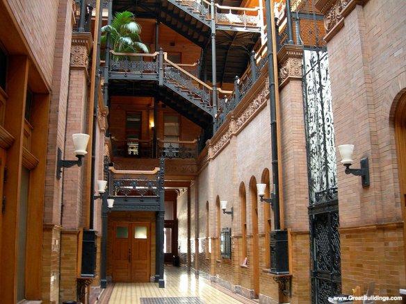 Bradbury Building atrium