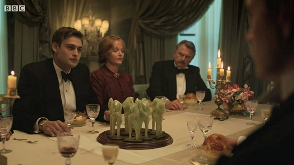 'And Then There Were None' dinner scene