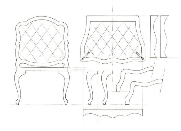 Template Drawings For Furniture Model Making Davidneat