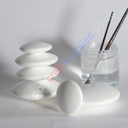 polystyrene ovals