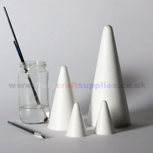 polystyrene-cones-group
