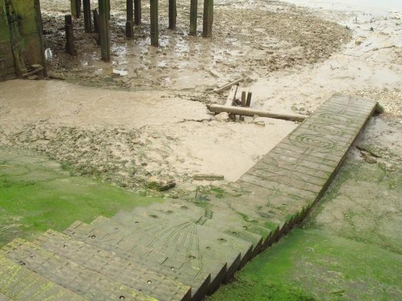 Enderby's Wharf ferry steps